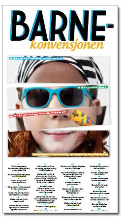 Plakat barnekonvensjonen